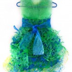 Fused Dressmade of Recycled Plastic Bags  (Original Sold)