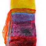 Fused Multicolor Dress made of Recycled Plastic Bags (Original Sold)