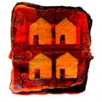 Houses on the Hill III (Original Sold)