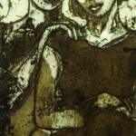 Mother and Son (Etching)