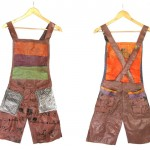 Overall made of Recycled Plastic Bags